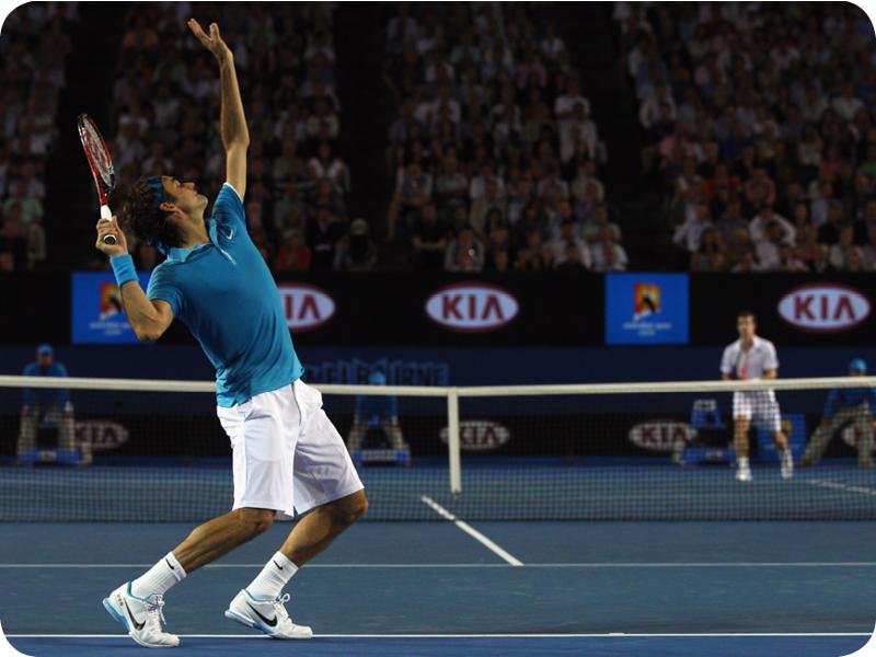 Roger Federer in Grand Slam #16
