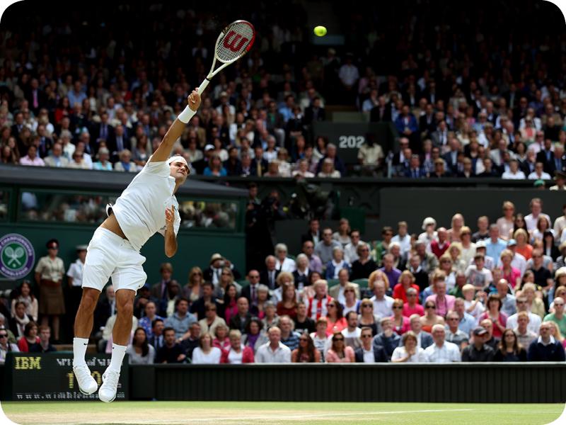 Roger Federer in Grand Slam #17
