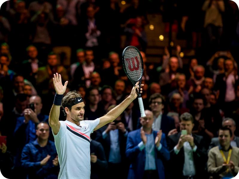 Roger Federer in Grand Slam #20
