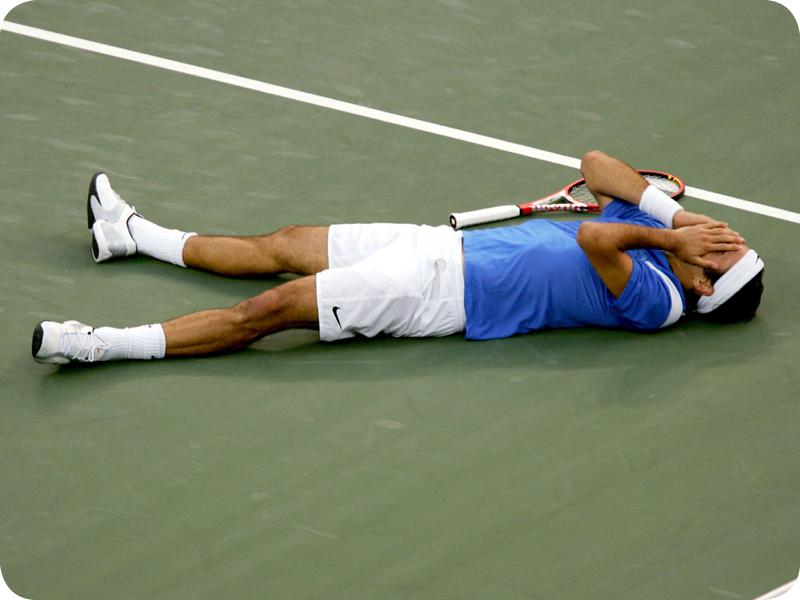 Roger Federer in Grand Slam #4