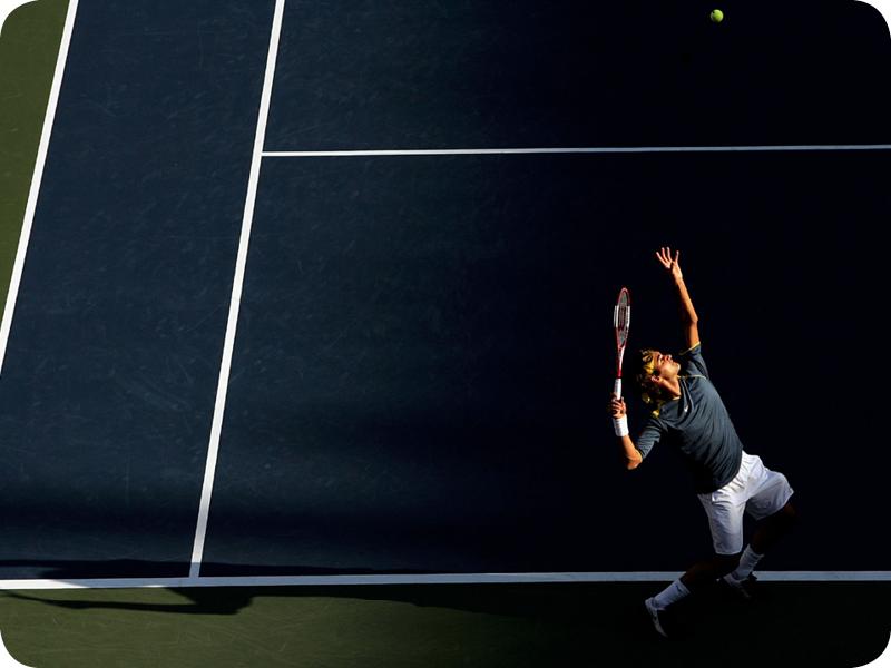 Roger Federer in Grand Slam #6
