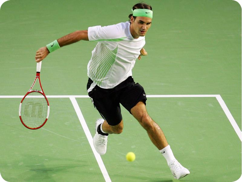 Roger Federer in Grand Slam #7