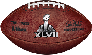 The football used in Super Bowl 47