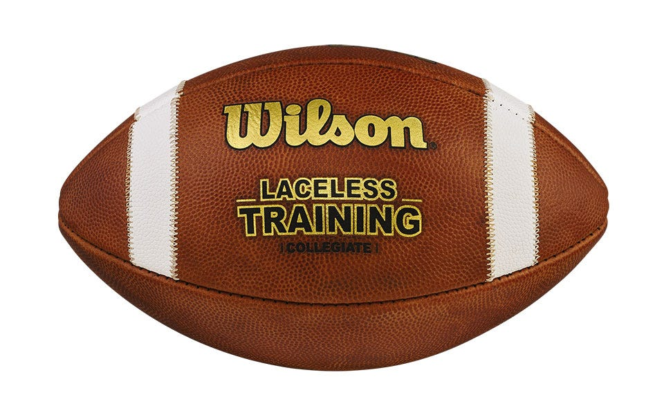 a laceless training football