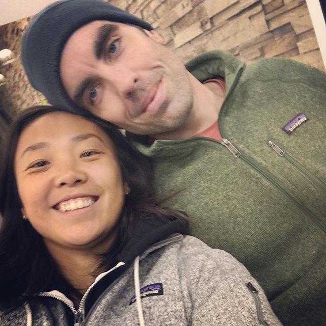 Dave and Jasmine selfie