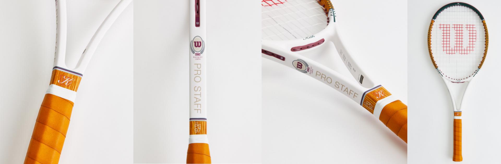 a kith x wilson collab racket