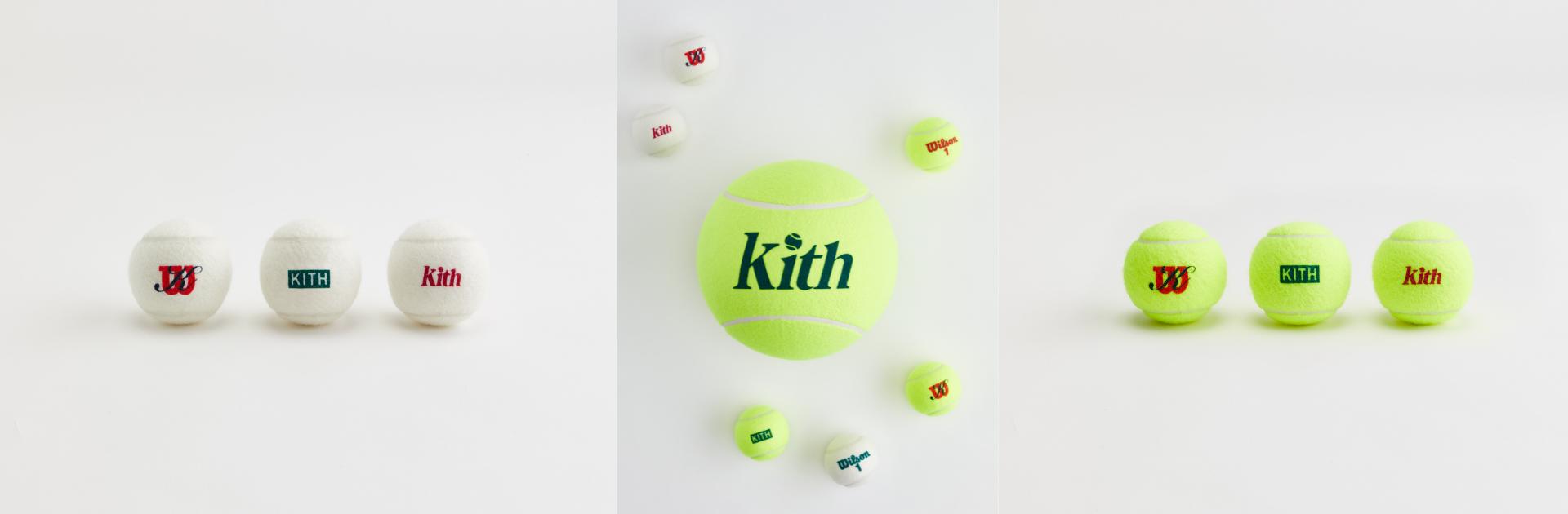 kith x wilson tennis balls