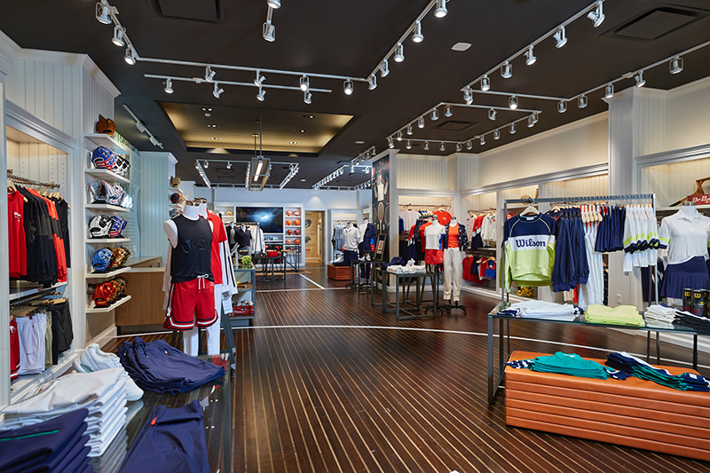 Wilson store interior