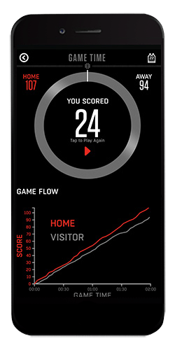 Gametime App Screen