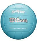 light blue soft volleyball