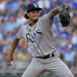 Chris Archer - Wilson Baseball Advisory Staff