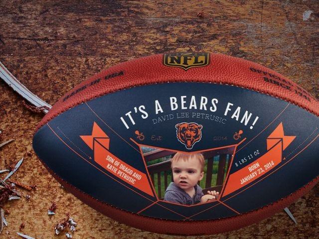 Wilson Custom NFL Footballs