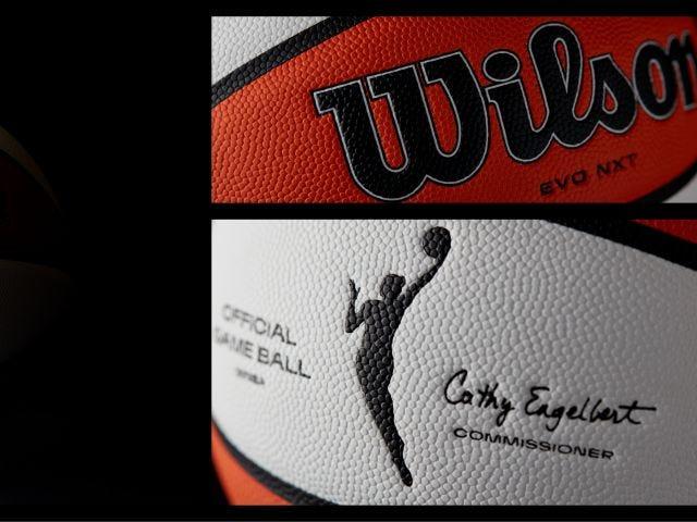 new wnba game ball