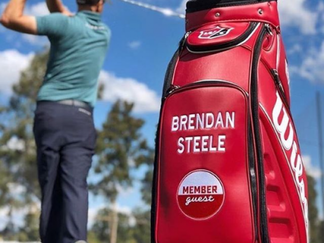 Brendan Steele's golf bag