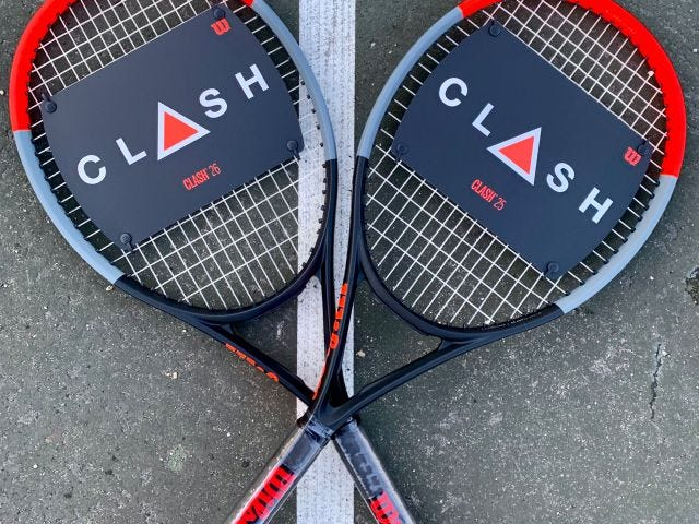 Two Clash Junior Rackets
