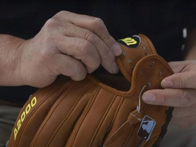 glove wrist strap
