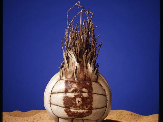 a photo of Wilson the Volleyball from Cast Away