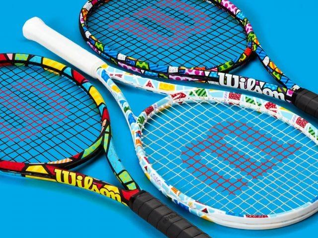 wilson x britto rackets