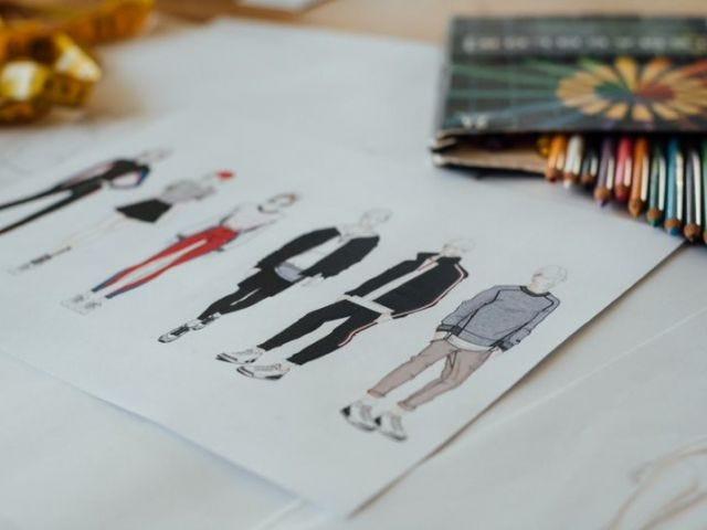 apparel design sketches