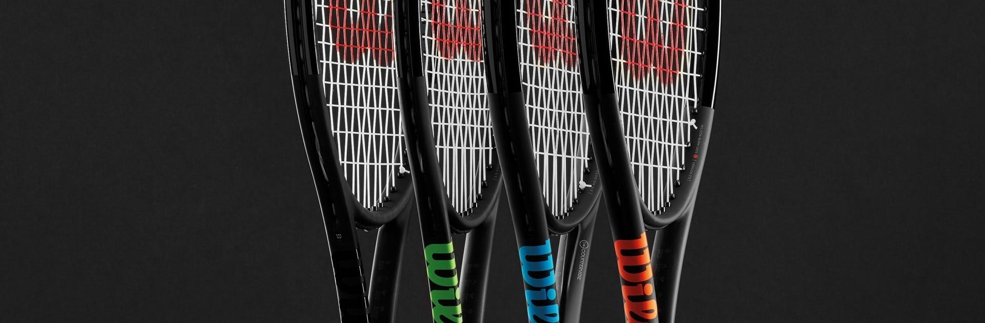 Black Edition Tennis Rackets | Wilson Sporting Goods