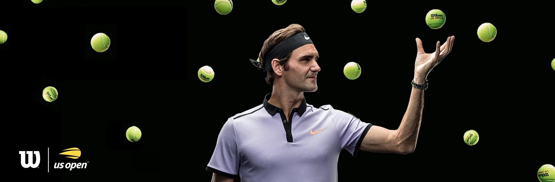 US Open Tennis Ball Sweeps | Wilson Sporting Goods