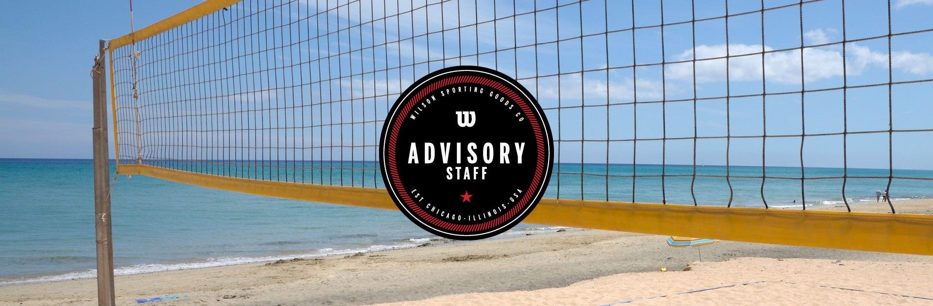 Wilson Volleyball Advisory Staff - NCAA Beach