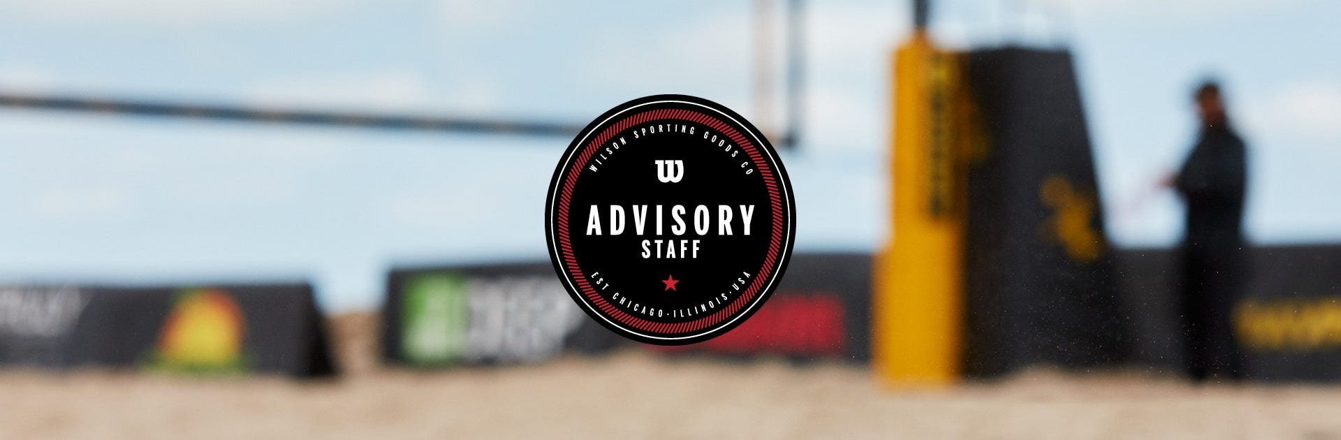 Wilson Beach Volleyball Advisory Staff