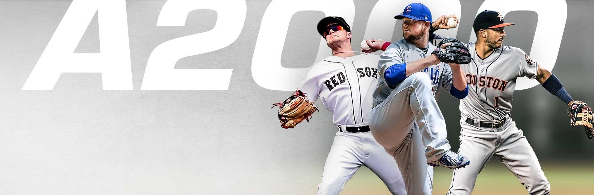2019 A2000 Baseball Gloves
