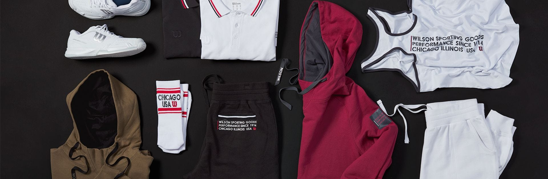 1914 Collection Apparel Lay Out
