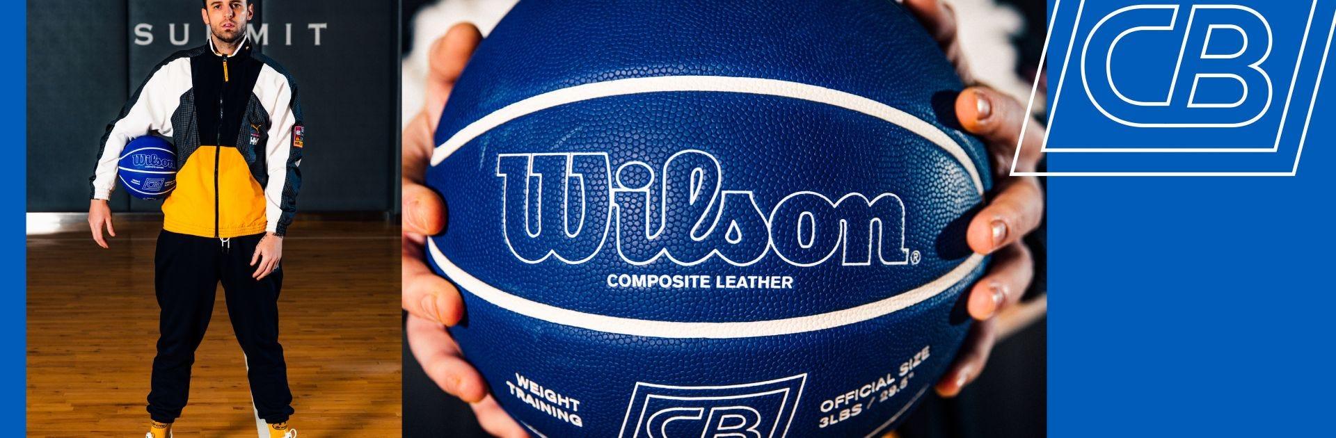 Wilson x Chris Brickley Weighted Training Ball