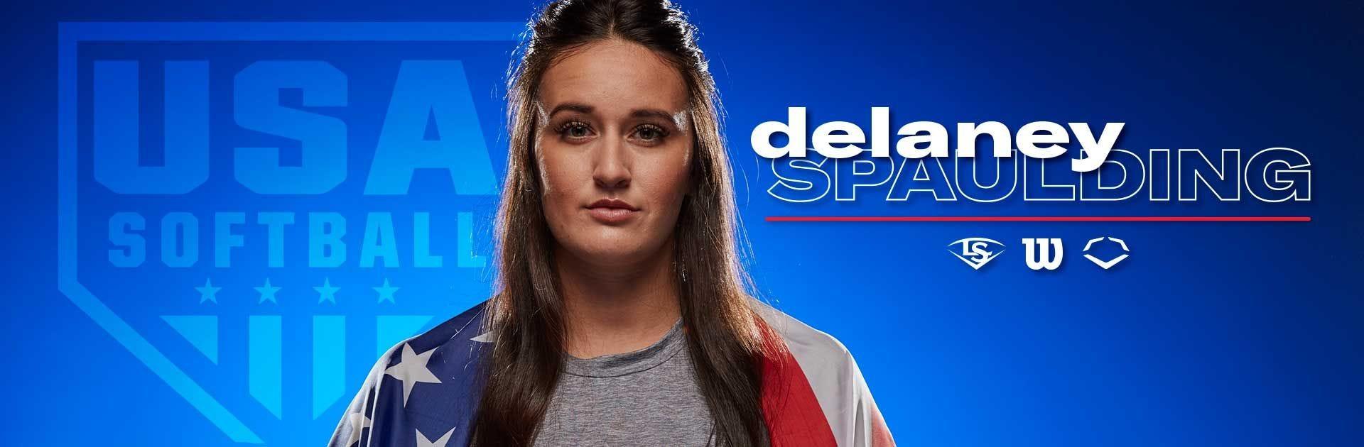 Delaney Spaulding on Team USA Softball