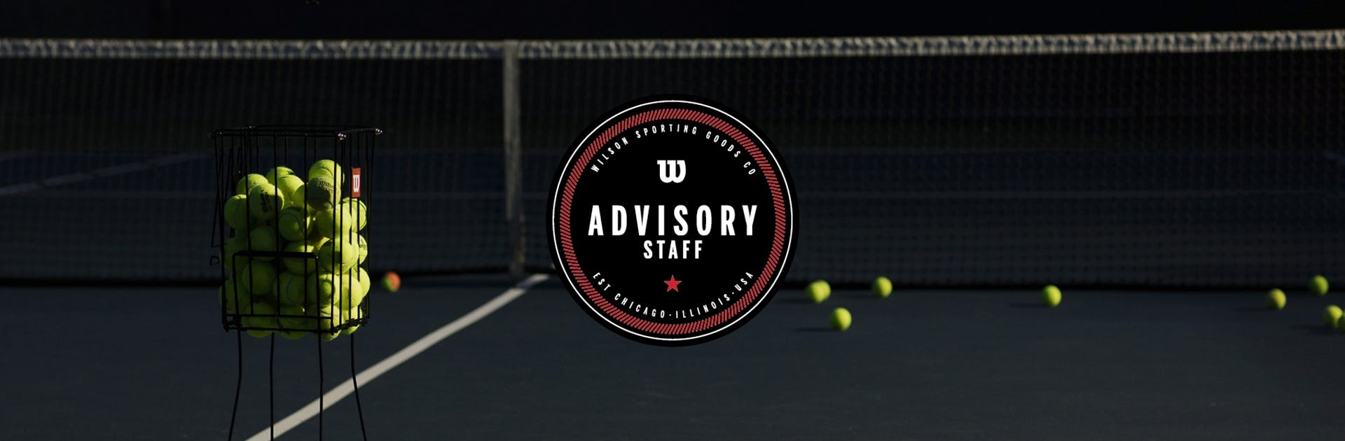 Wilson Tennis Advisory Staff