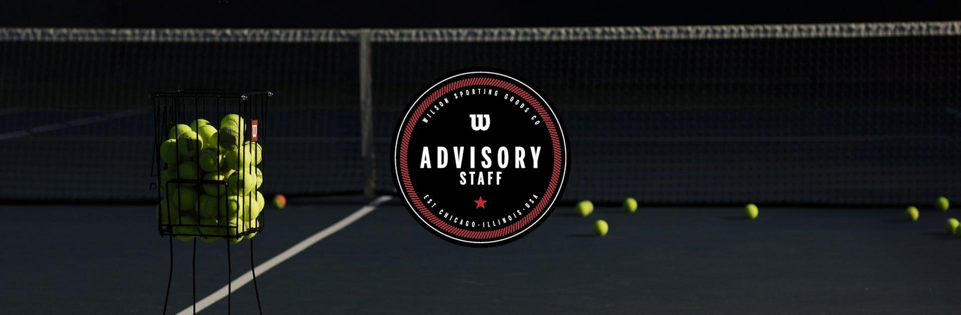 Wilson Tennis Advisory Staff