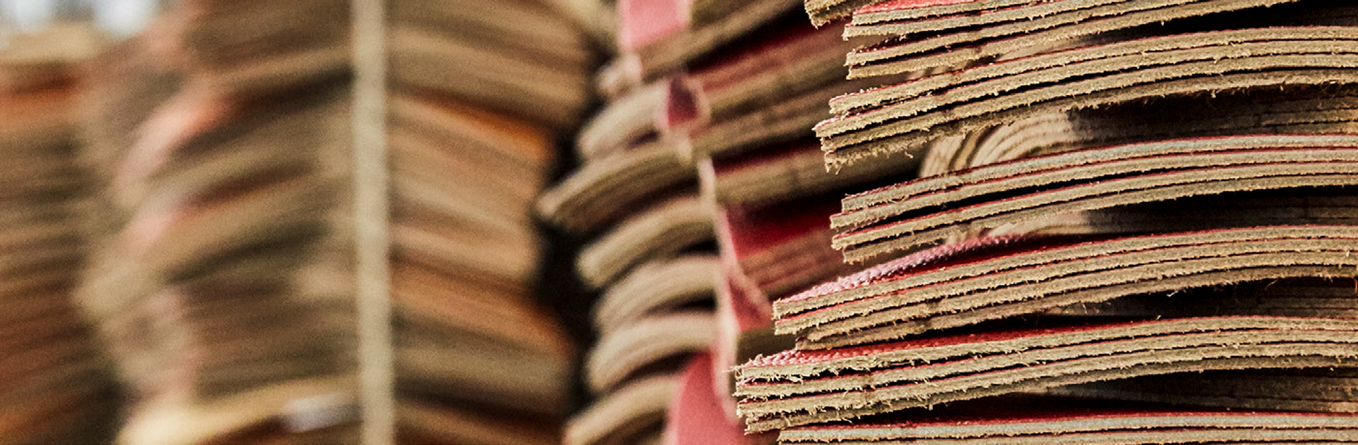 close up photo of stacks of leather