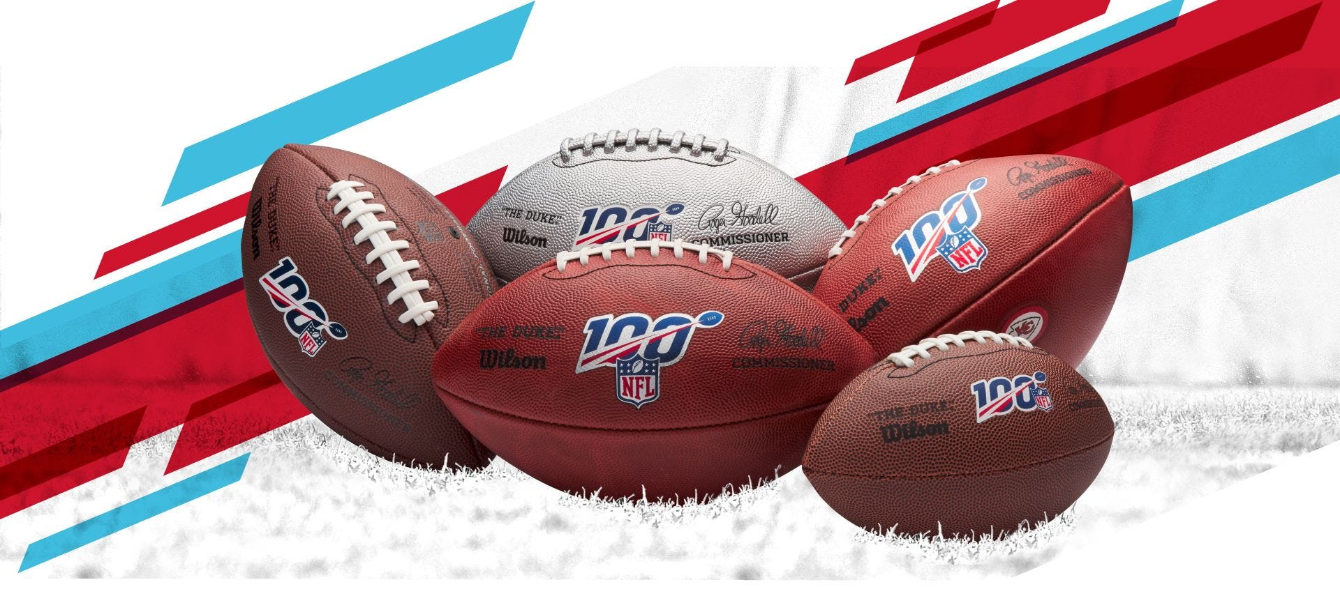 NFL Commemorative Footballs