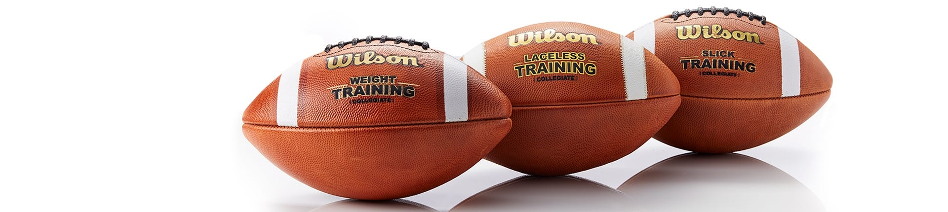 Wilson training and practice footballs