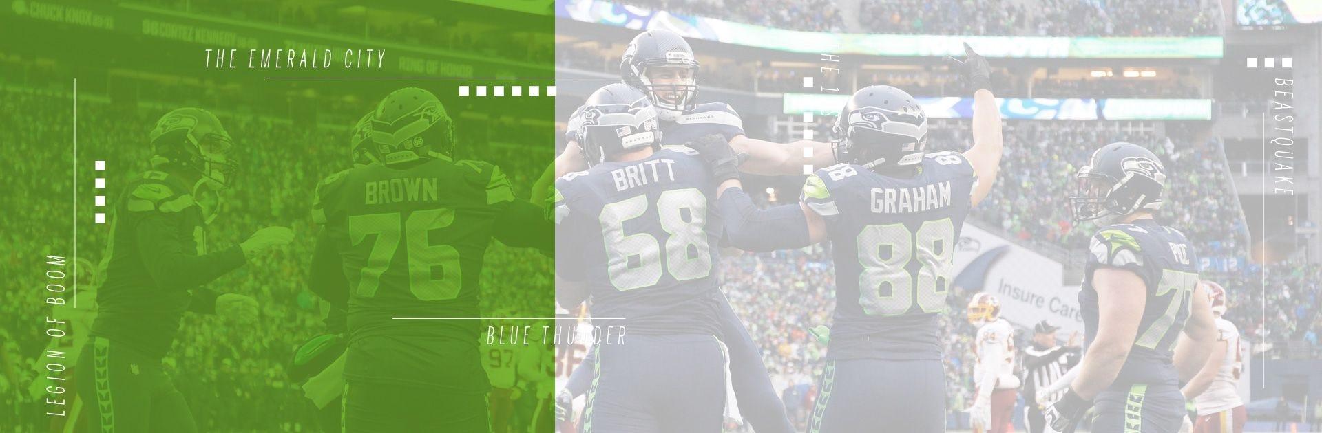 best loved f3c64 d7916 Seattle Seahawks Footballs & Gear | Wilson Sporting Goods