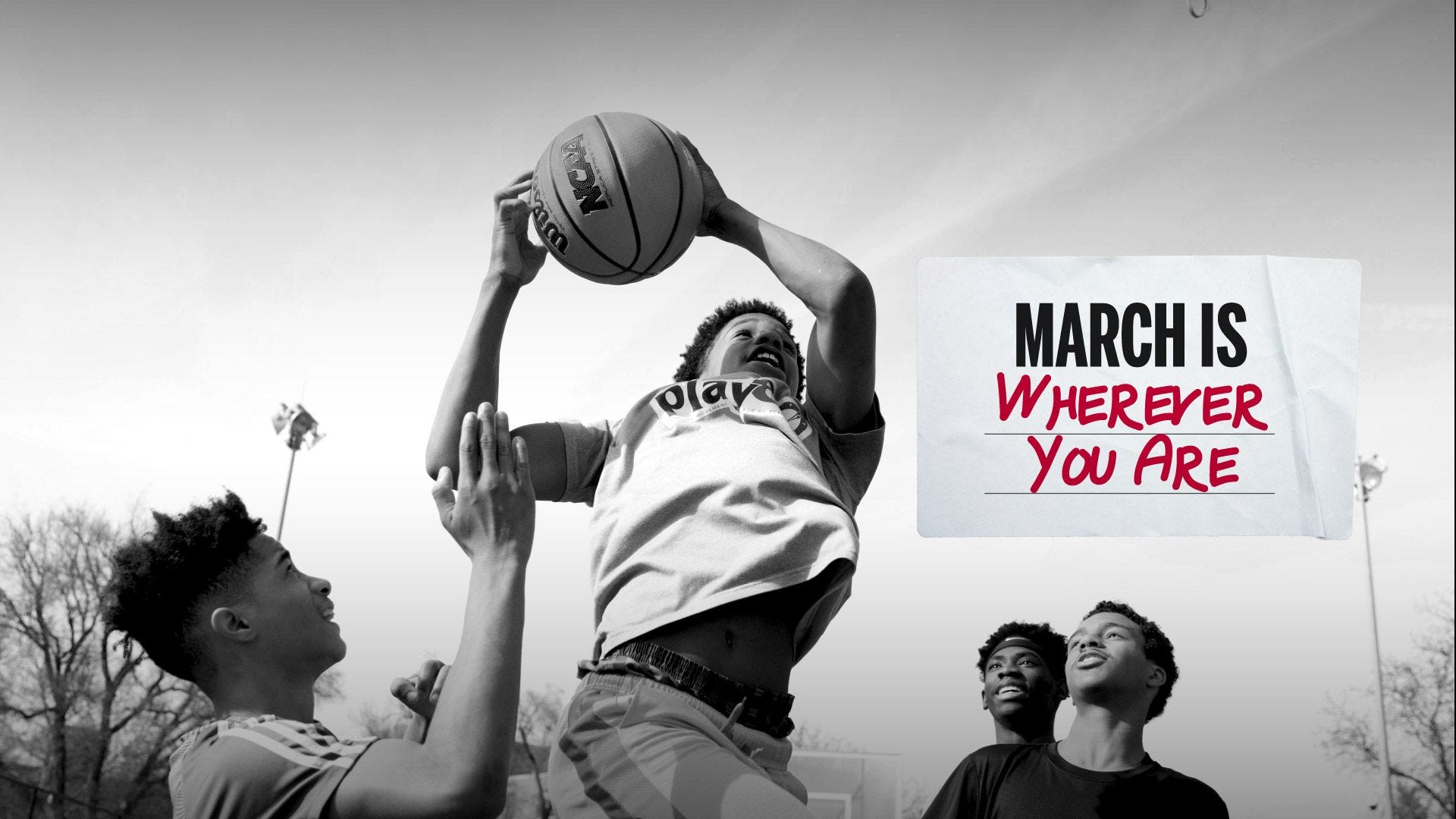 march is whereever you are