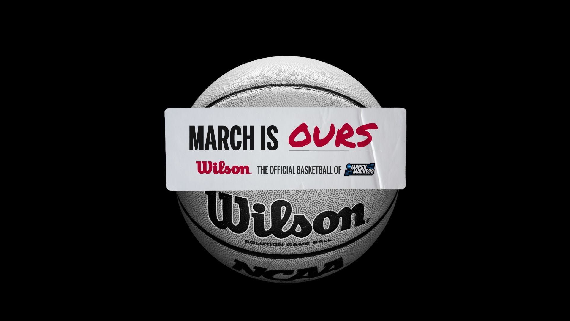 wilson is the official basketball of march madness