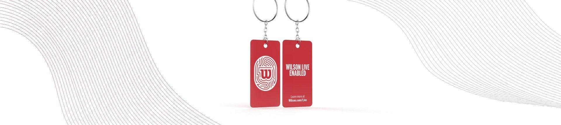 WilsonLive NFL100 Keychain