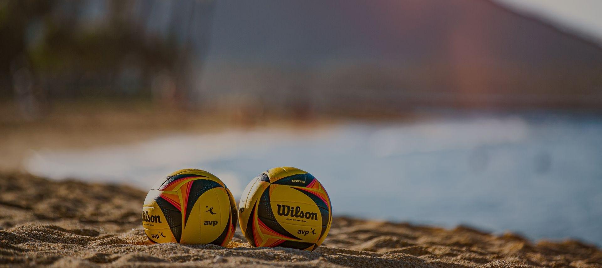 AVP OPTX Volleyball on the beach