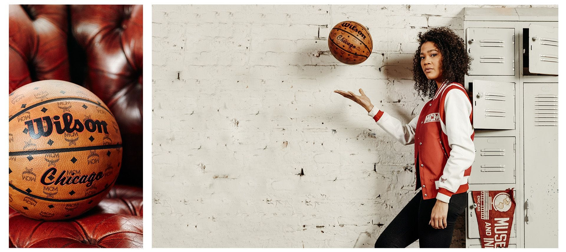 Wilson and MCM Chicago Collab Basketball