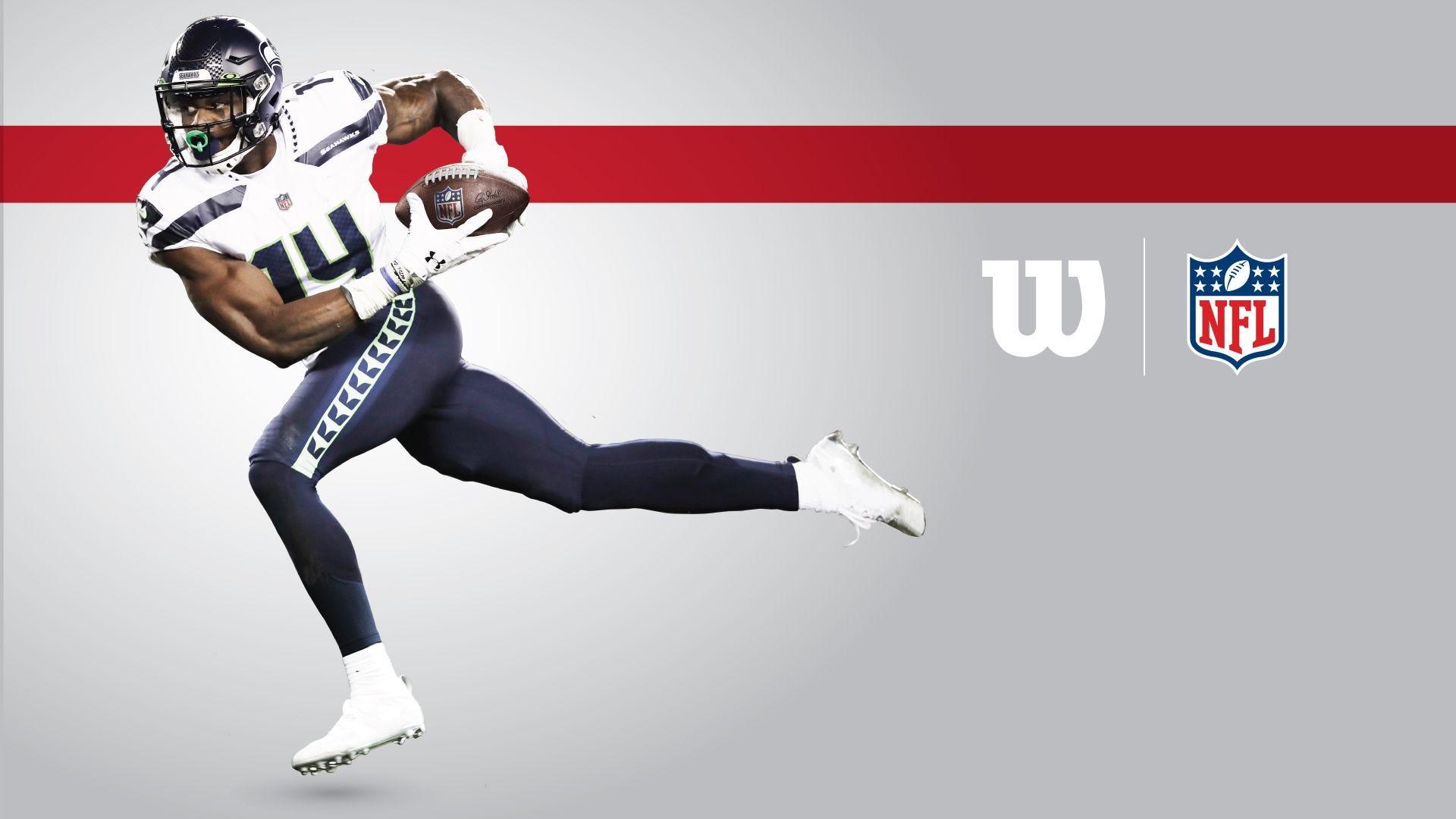 Wilson Duke NFL Football - DK Metcalf