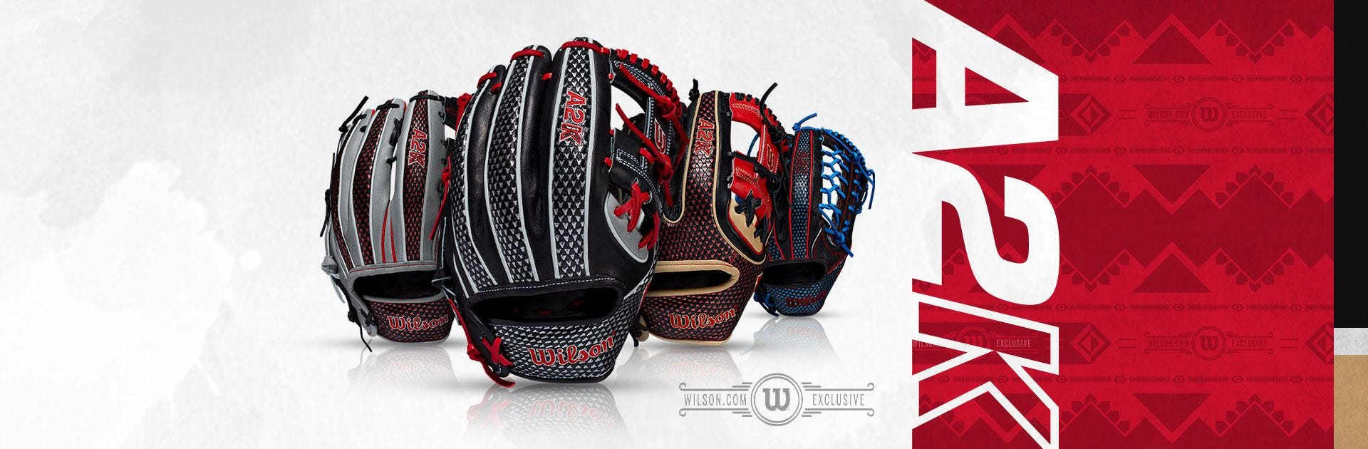 Limited Edition Wilson A2K Baseball Gloves