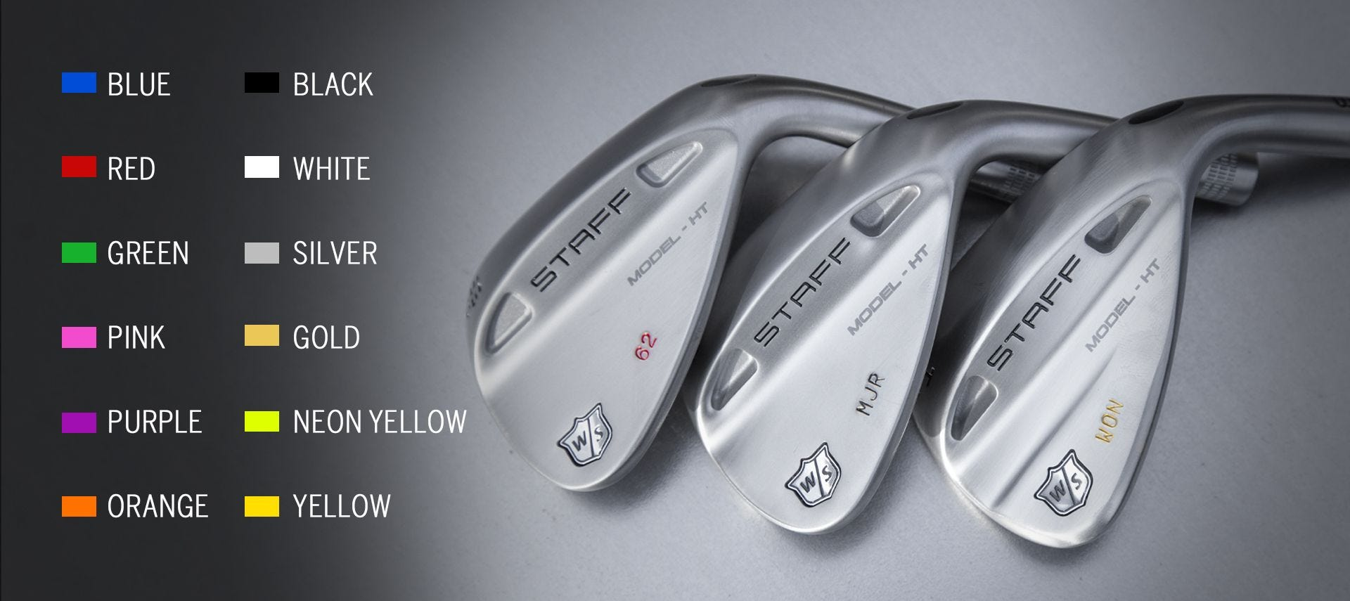 Personalized Staff Model HT Wedge