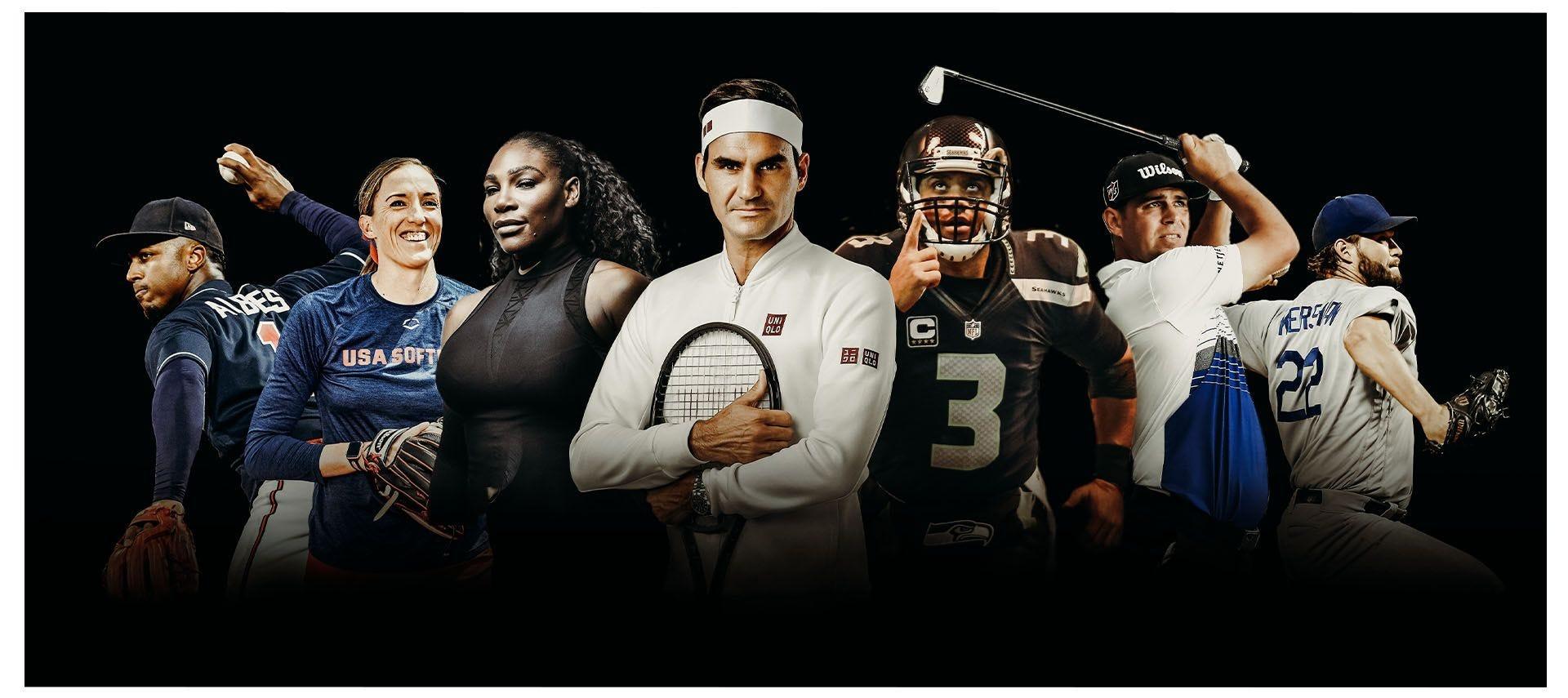 Wilson Professional Athlete Advisory Staff Members, like Serena Williams