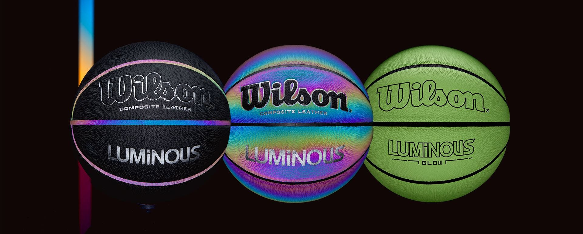 Wilson Luminous Basketball