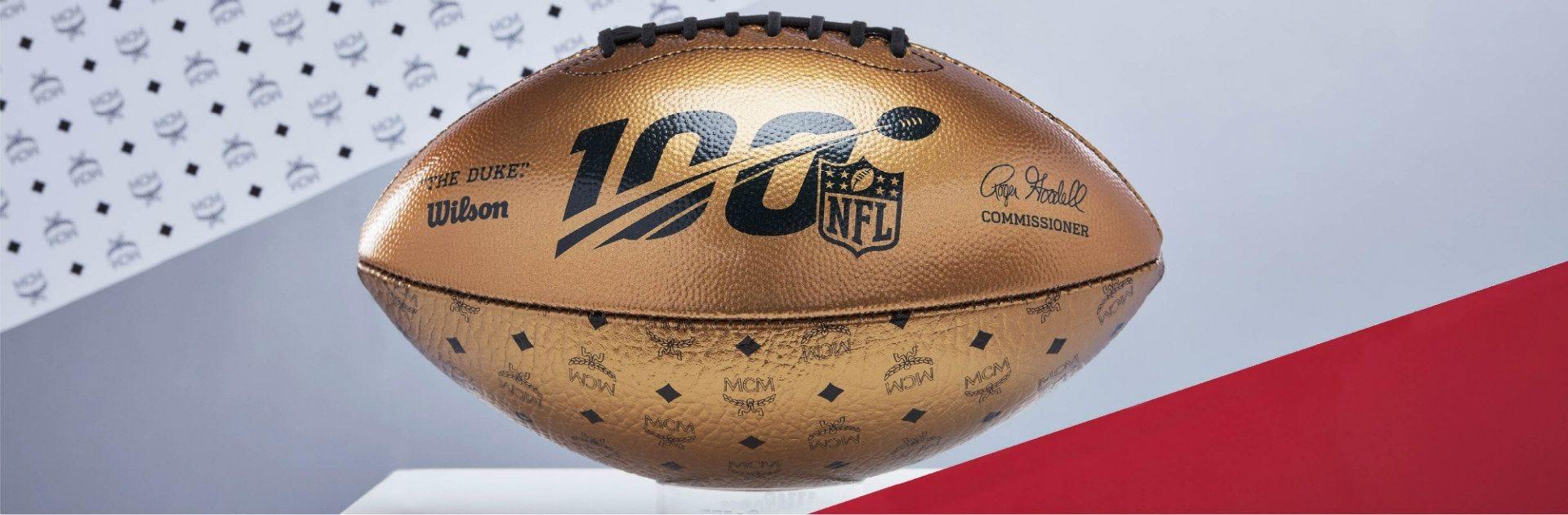 MCM x NFL x Wilson Collaboration