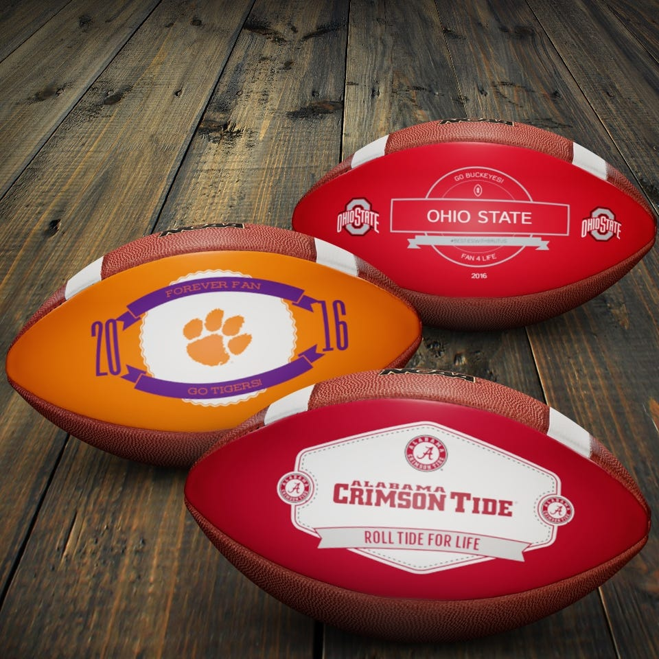 Wilson Custom <br>Football Shop