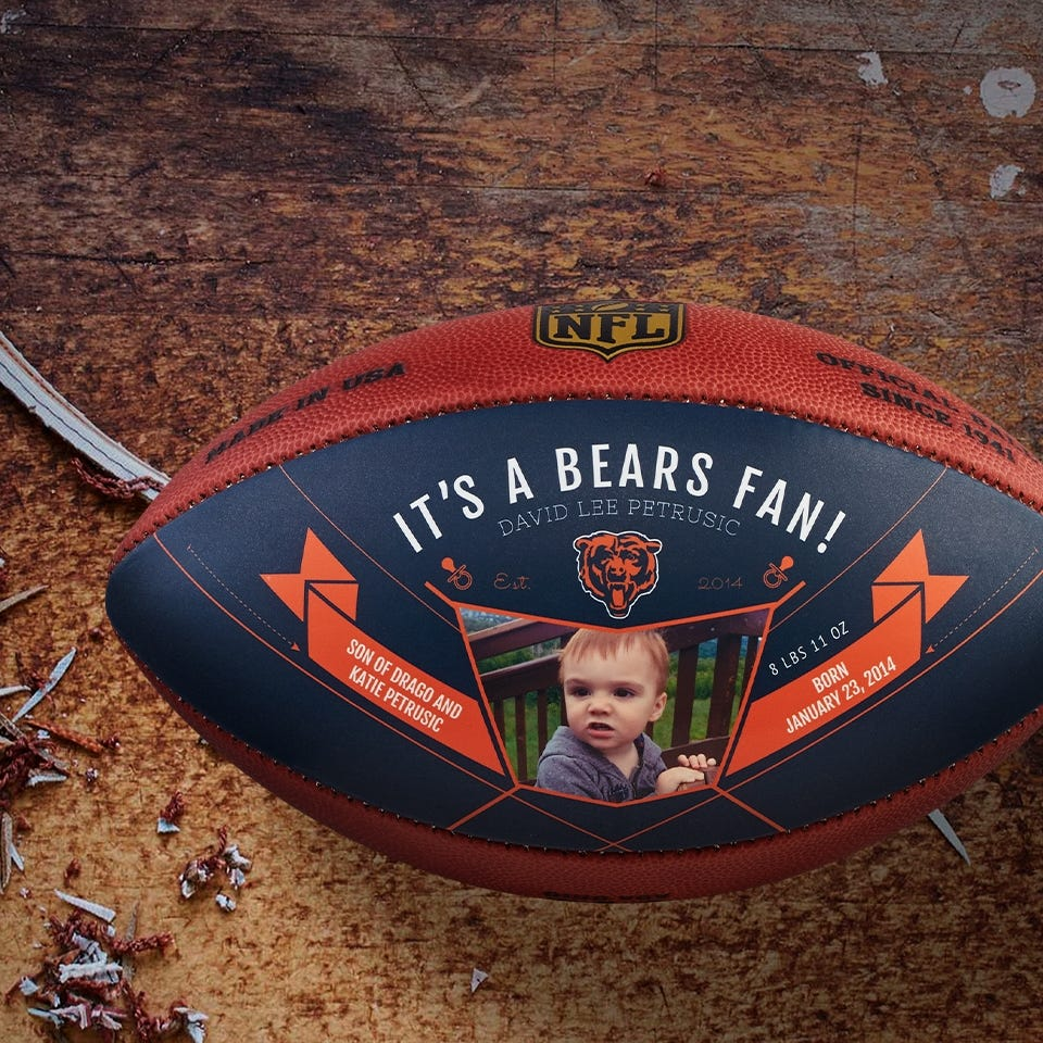 VIEW & PERSONALIZE NFL DESIGNS